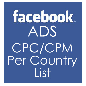Facebook Advertising: CPC/CPM per country | Rudi Gabriel