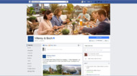 Facebook page new design 2016